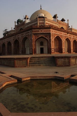 mughal: Delhi, India: Humayun s tomb, Architectural detail. The place is the tomb of the Mughal Emperor Humayun.