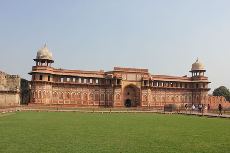 agra: Agra, India. The Agra Fort is site located in Agra, Uttar Pradesh, India.The fort can be more accurately described as a walled city.