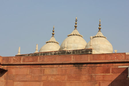 accurately: Agra, India. Agra Fort. The Agra Fort is an UNESCO World Heritage site located in Agra, Uttar Pradesh, India.The fort can be more accurately described as a walled city.