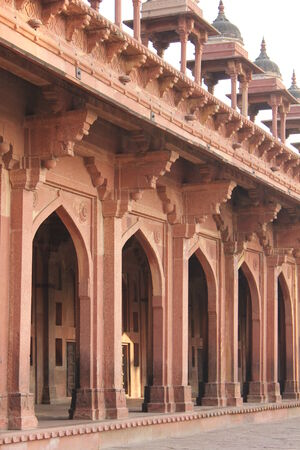 agra: Agra, India: Fatehpur Sikri, a city and a municipal board in Agra district, India.  Editorial