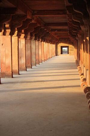 fatehpur sikri: Agra, India: Fatehpur Sikri, a city and a municipal board in Agra district, India.  Editorial