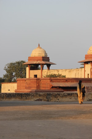 Agra, India: Fatehpur Sikri, a city and a municipal board in Agra district, India. A walled city, UNESCO heritage, one of of the best preserved collections of Indian Mughal architecture in India photo