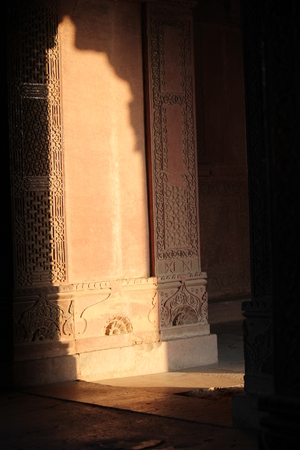 Agra, India: Fatehpur Sikri, a city and a municipal board in Agra district, India.  Editorial