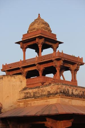 Agra, India: Fatehpur Sikri, a city and a municipal board in Agra district, India.  Banco de Imagens