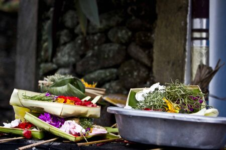 god box: Traditional Hindu offerings to the god