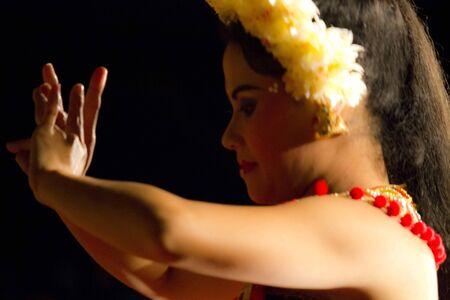 ubud: BALI, INDONESIA - JULY 6 2012: Portrait of a Balinese traditional dancer, In Ubud, Bali Editorial