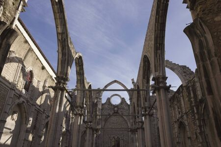 roofless: Carmo Convent in Lisbon, roofless to the Lisbon eartquake
