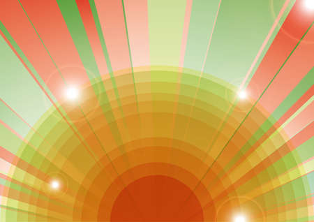 psychedelic background with lens flare, reflections of the camera lens Stock Vector - 18260417