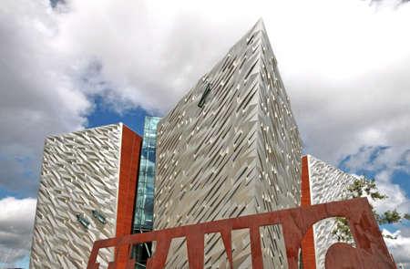 Titanic Museum, Belfast, United Kingdom Stock Photo - 18280143