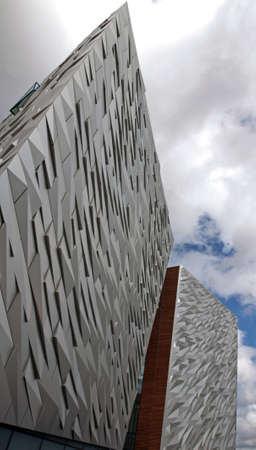 Titanic Museum, Belfast, United Kingdom Stock Photo - 18280137