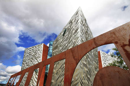Titanic Museum, Belfast, United Kingdom Stock Photo - 18280140
