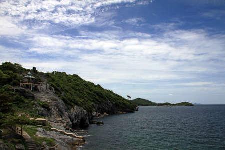 Koh Sichang island coast, Thailand