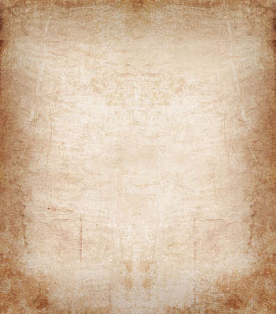 vellum: dirty brown astract like leather background or frame