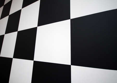 abstract background with checkerboard in perspective photo