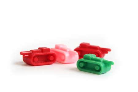 risiko: toy tanks Stock Photo