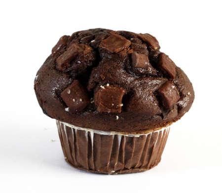 whim: chocolate muffin temptation Stock Photo