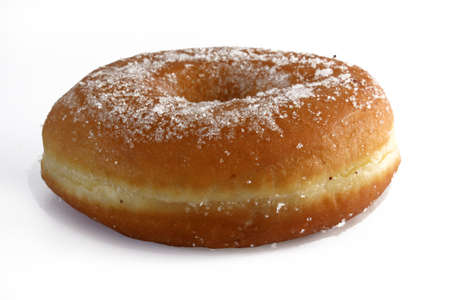 american sweet donut, frontal view Stock Photo