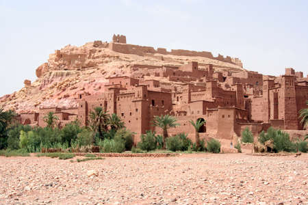 Ait ben Haddou kasbha in Morocco photo