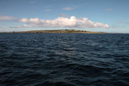 Aran islands landscape in Ireland