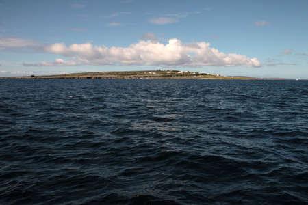 aran islands: Aran islas mar de Irlanda