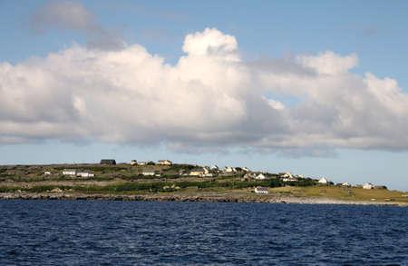 aran islands: Aran islands landscape in Ireland