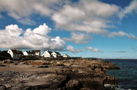 inisheer: Aran islands landscape in Ireland
