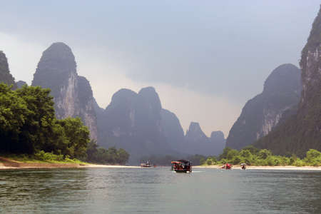 Li river, southern China photo