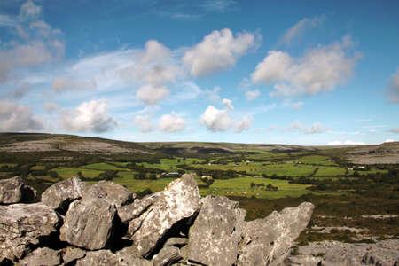 quite: The Burren quite landscape, county Clare, Ireland
