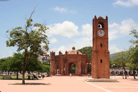 Chiapa de Corzo zocalo, Mexico Imagens - 23211106