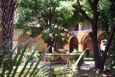 メキシコの中庭 写真素材