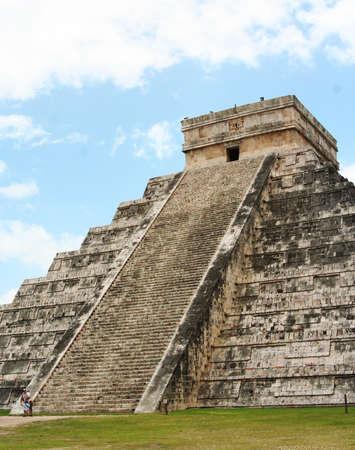mesoamerica: Chichen Itza main pyramid, Yucatan, Mexico