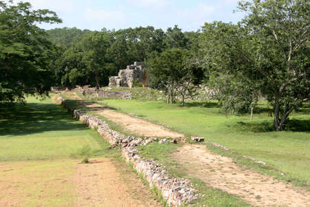 ���archeological site���:  archeological site, Maya ruins  Ruta Puuc, Yucatan