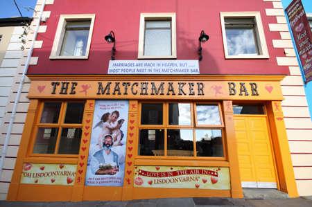 Lisdoonvarna Matchmaker Bar, traditional  love  festival place in Ireland