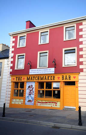 matchmaker: Lisdoonvarna Matchmaker Bar, traditional  love  festival place in Ireland