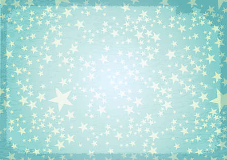 canvass: abstract vintage stars background old style Illustration