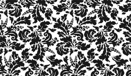 modular home: horizontal black and white vintage tapestry with flowers