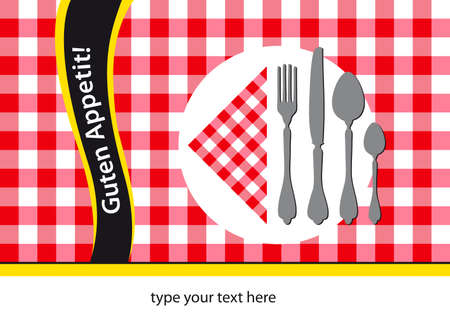 german colours table-cloth background design Vector