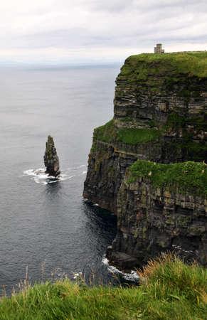 moher: Cliffs of Moher in vertical, Ireland