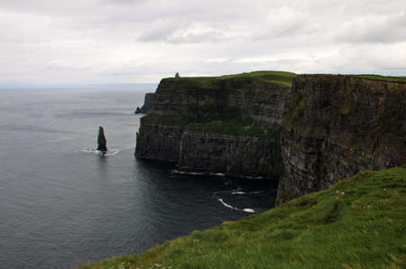 moher: Cliffs of Moher landscape in Ireland