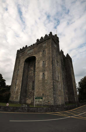 durty: Old Bunratty Castle in Ireland