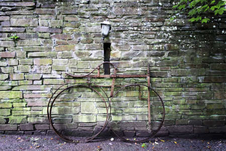 durty: old iron bike in Bunratty folf village and park