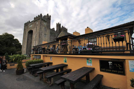 durty: Durty Nelly Pubs in Bunratty, Ireland Editorial