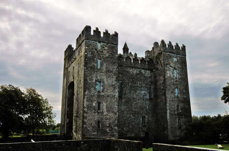 Old Bunratty Castle in Ireland