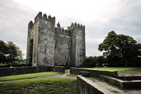 Bunratty castle in Ireland Imagens