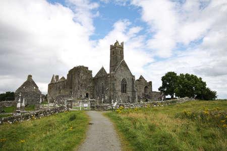 quin: Quin Abbey ruins in Ireland