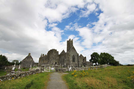 quin: Quin Abbey ruins in Ireland