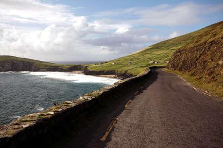 dingle: Slea Head Drive panoramic Road, Dingle Peninsula, Ireland
