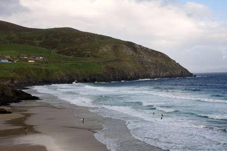 dingle: Slea Head beach in Ireland, Dingle Peninsula