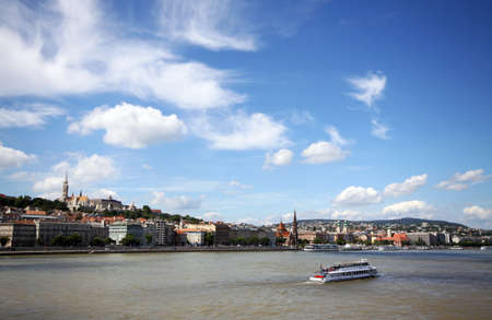 buda: Buda shore and river Danube, Budapest