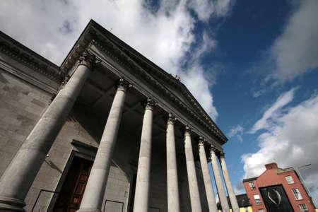 Stadhuis van Cork, Ierland Stockfoto - 60786059